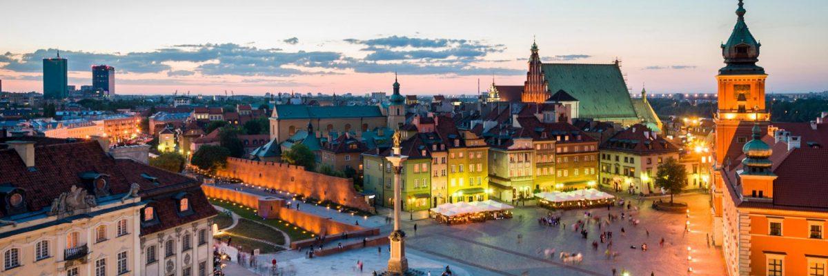 pigūs skrydžiai į Varšuvą